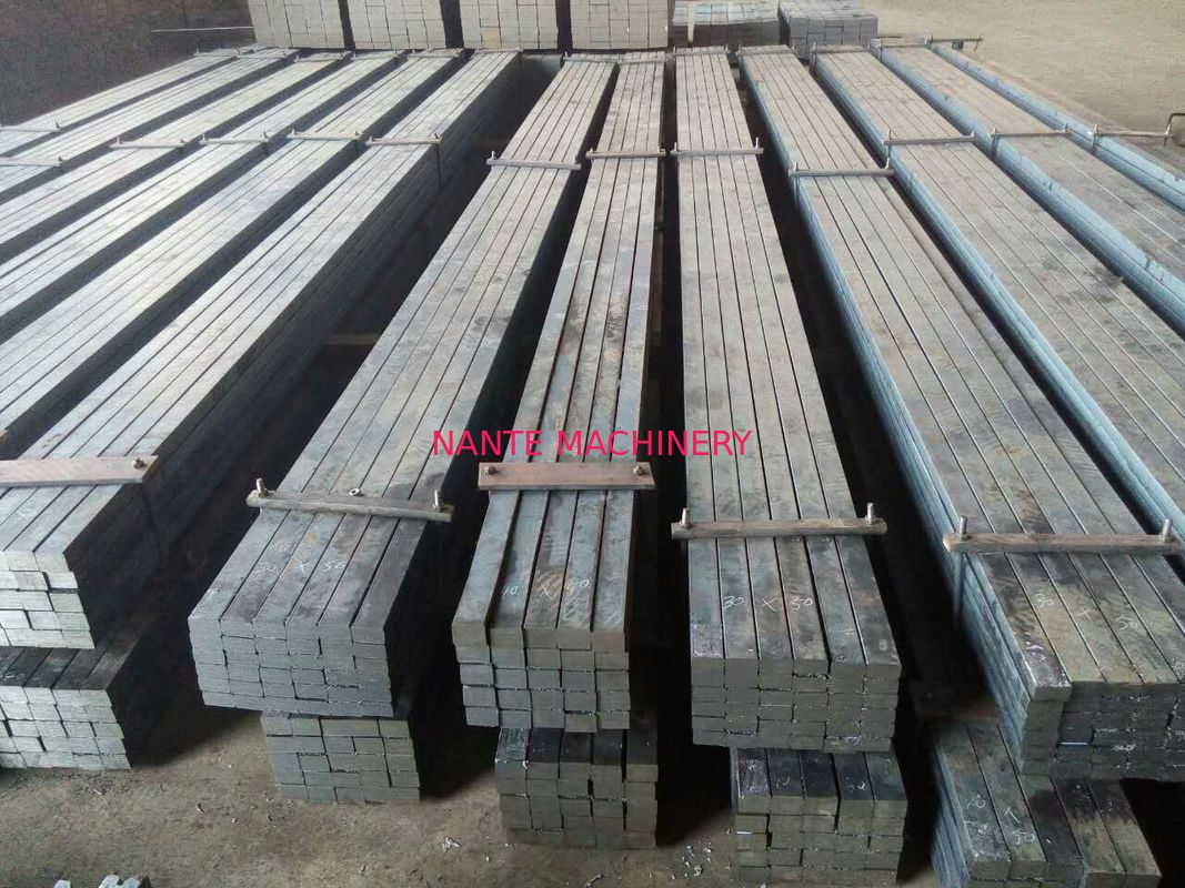 Hot Rolled Treatment Crane Flat Bar Steel With Q345B Material Easy Crane Rail Installation
