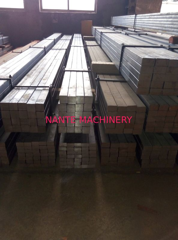 Hot Rolled Square Steel Billet Steel Crane Rail Flat Bar for Overhead Crane