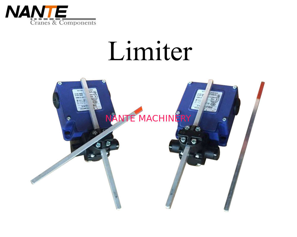 Double Poles Blue Cross Limiter Made By Galvanized Steel Used For Industrial Work