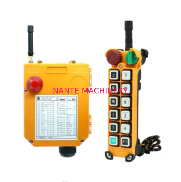 wireless/radio remote control for kinds of cranes with double speed