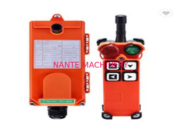 F21- 4D Hoist Remote Control Switch / Industrial Control For Crane Hoist