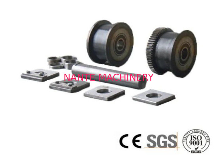 10 Ton Crane End Carriage Wheel , Overhead Crane Parts With 42Crmo Material