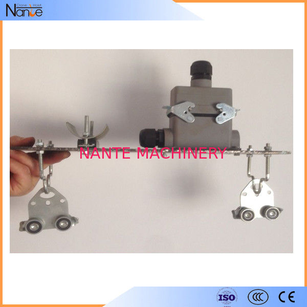 Gantry Crane Festoon Cable Trolley C-Rail Festoon System With Dual Locking Elements